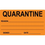 74x130 Quarantine Label test1