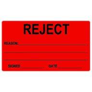 74x130 Reject Label
