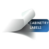 Cabinetry Labels