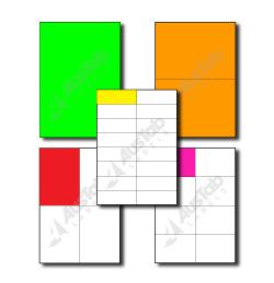 A4 Fluoro Sheets